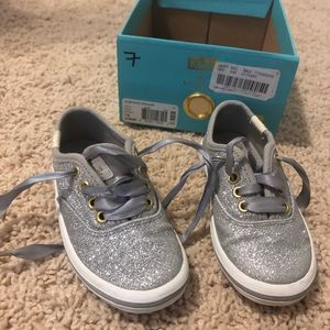 Kate Spade Keds glitter sneakers size 7 👟 🌟